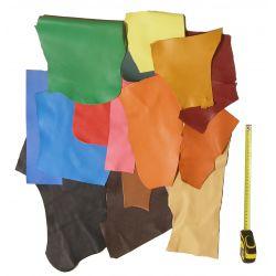 Chutes de cuir Multicolores