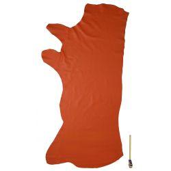 Peau de cuir Veau grainé Orange